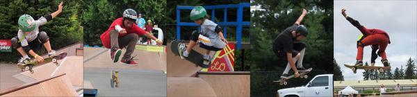 Skate Park action